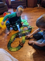 The tracks are super fun!